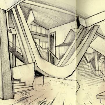 Postdamer place, philarmonie, Charoun architecte